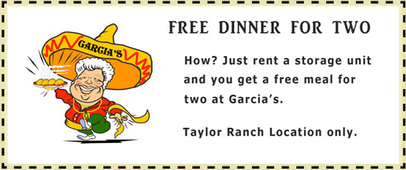 Garcias Restaurant Coupon